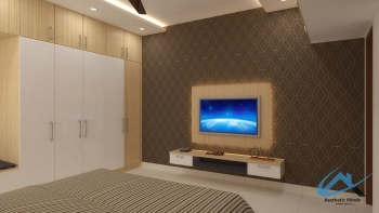 09.Jai Bedroom_Tv View